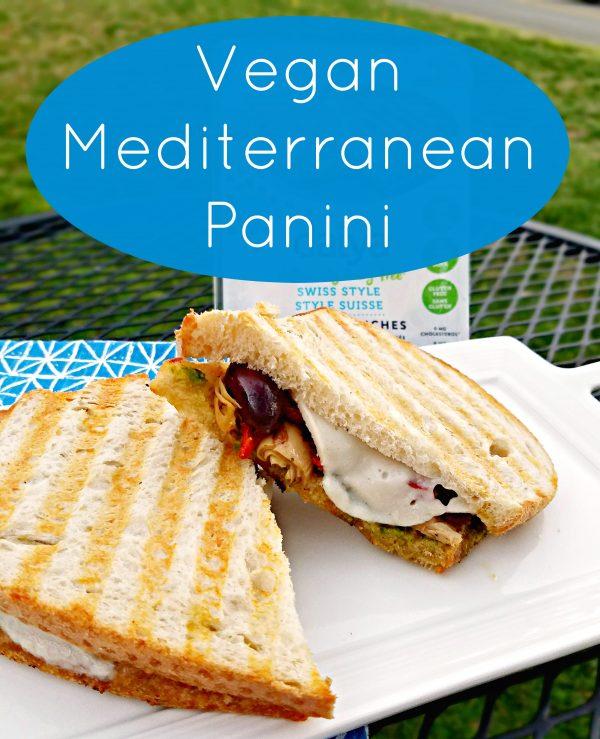 Vegan Mediterranean Panini