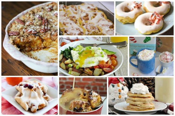Christmas Breakfast Recipes from Delicious Dishes Recipe Party