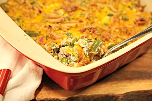 The Best Green Bean Casserole Recipe