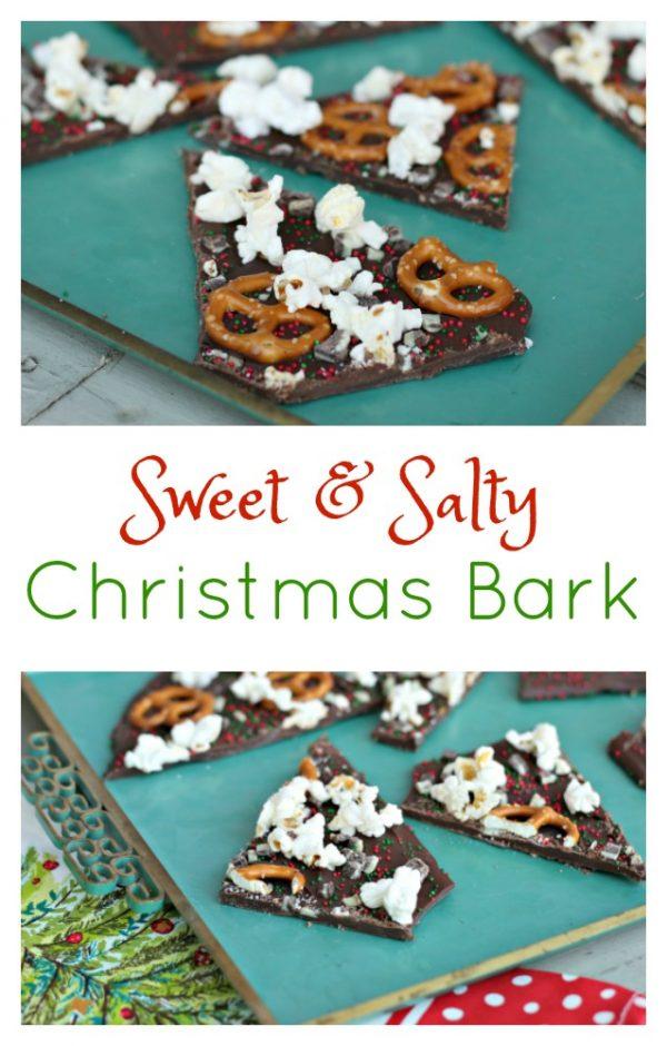 Sweet & Salty Christmas Bark