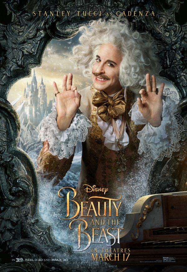 Stanley Tucci as Cadenza in Beauty in the Beast