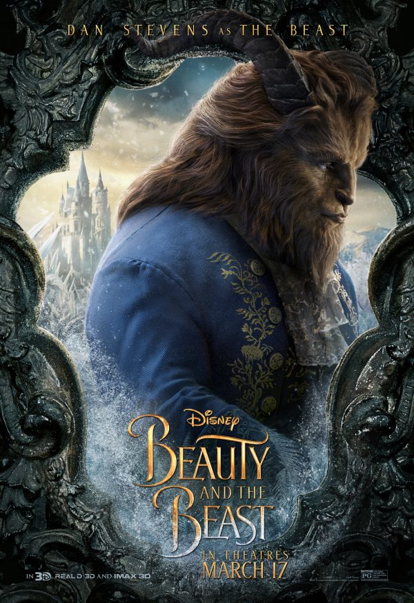 Dan Stevens as The Beast in Beauty in the Beast