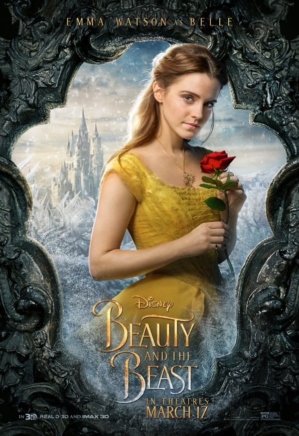 Emma Watson as Belle in Beauty in the Beast