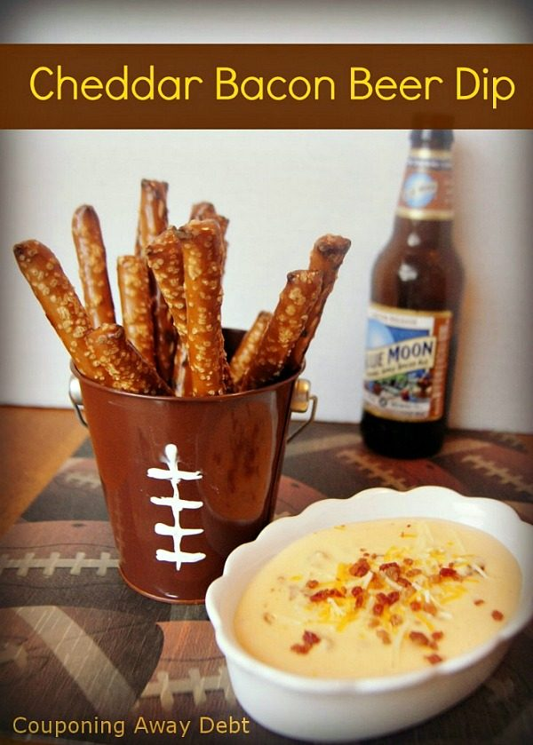 Cheddar Bacon Beer Dip from More than a Mom of Three