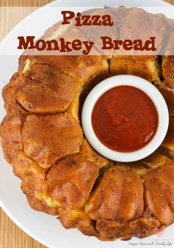 Pizza Monkey Bread from Sugar Spice and Family Life