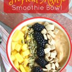 Tropical Mango Smoothie Bowl