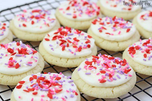 Valnetine's Day Sugar Cookies
