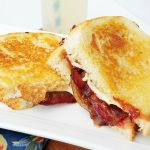 Bacon and Caramelized Onion Grilled Cheese