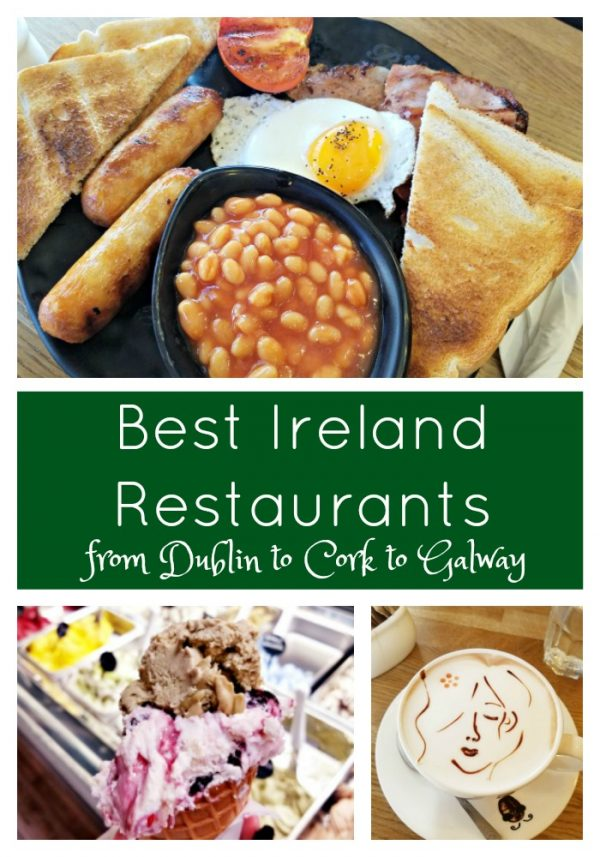 The Best Ireland Restaurants from Dublin to Cork to Galway, and everything in between!