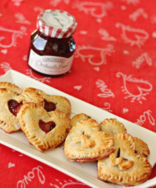 Mini Cherry Hand Pies from Clever Housewife