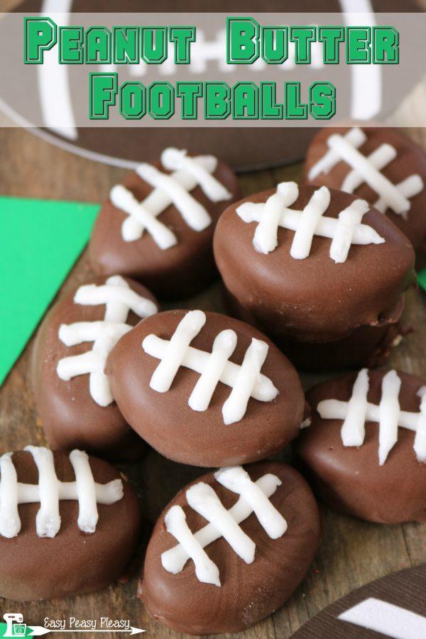 Peanut Butter Footballs