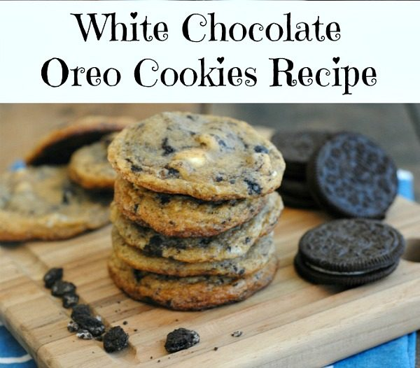 White Chocolate Chip and Oreo Chunk Cookies from IGOBOGO