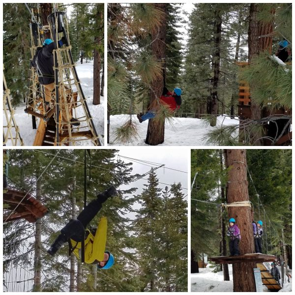 Lake Tahoe Accommodations and Adventure for Every Family at Tahoe Treetop Adventure Park