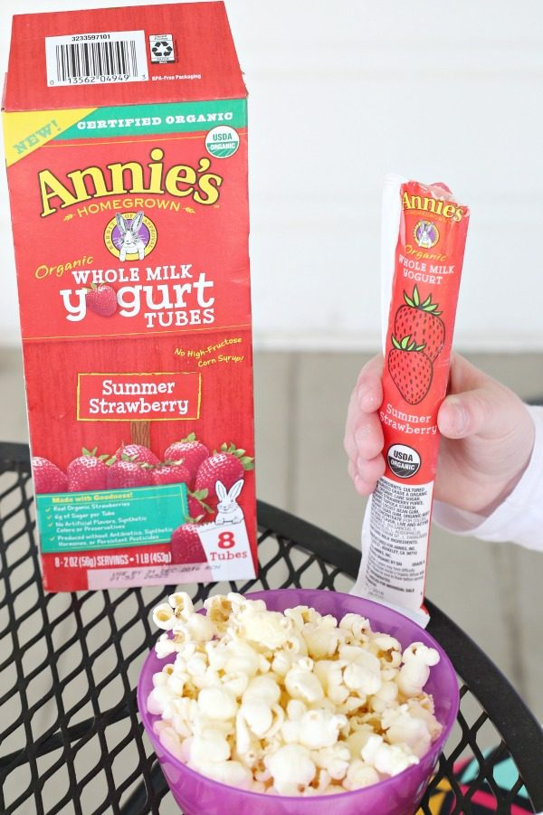 After School Snacking with Annie's
