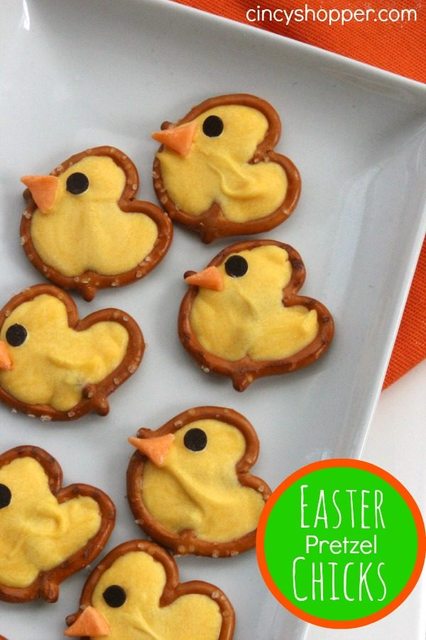 Easter Pretzel Chick Treats from Cincy Shopper