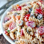 Lemon Pepper Pasta Salad from Bunny's Warm Oven