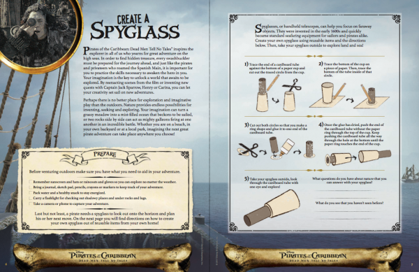 Free Pirates of the Caribbean Activity Sheets and Announcement