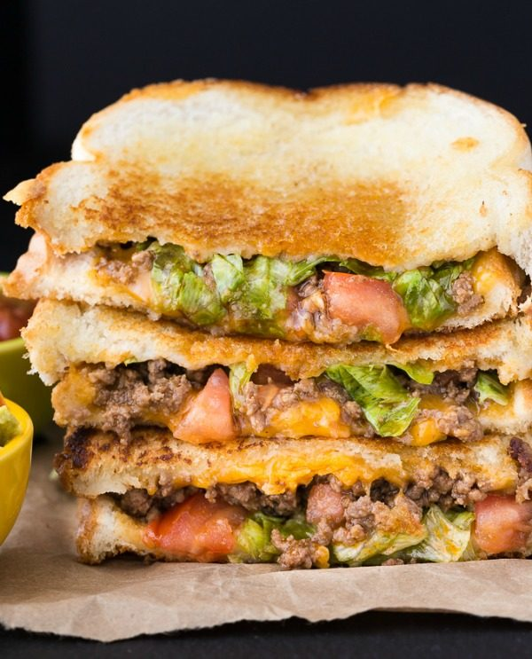 Taco Grilled Cheese from Simply Stacie