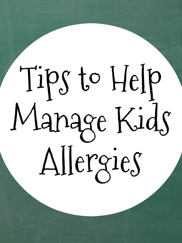 Tips to Help Manage Kids Allergies