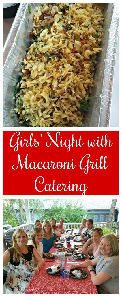 Girls' Night with Macaroni Grill Catering