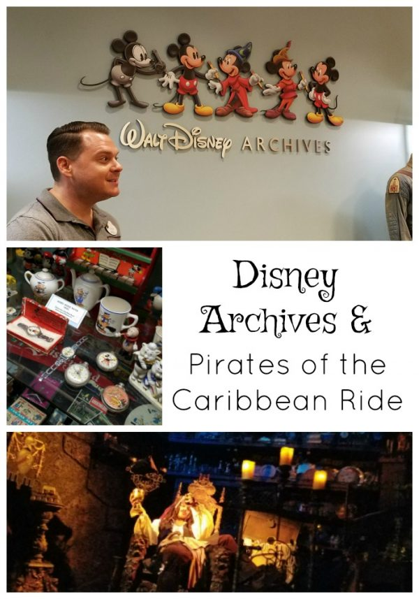 Sailing Into the Past with the Pirates of the Caribbean Ride and Disney Archives
