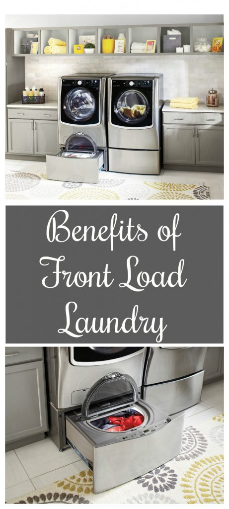 The Benefits of Front Load Laundry