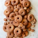 Cinnamon Sugar Cake Doughnut Recipe from Tikkido