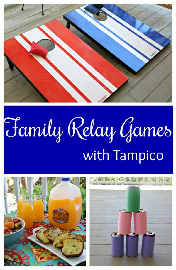 Family Relay Games with Tampico