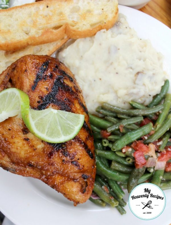 Grilled Honey Chicken Breast from My Heavenly Recipes