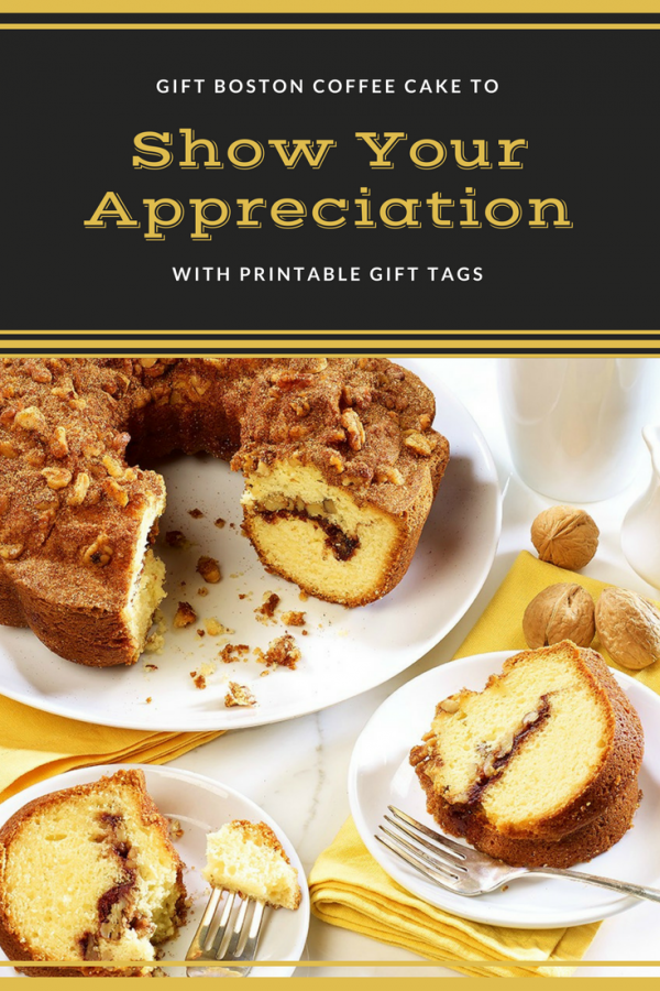Show appreciation to those around you, with the gift of cake: a sweet thank you for a sweet summer!