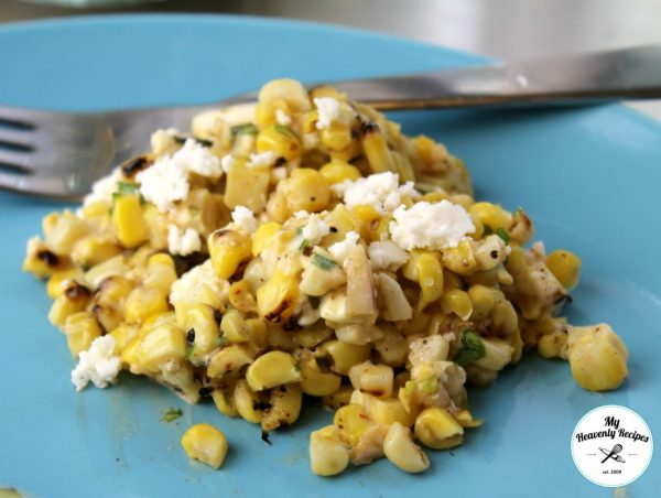 Southwestern Grilled Corn Mix from My Heavenly Recipes