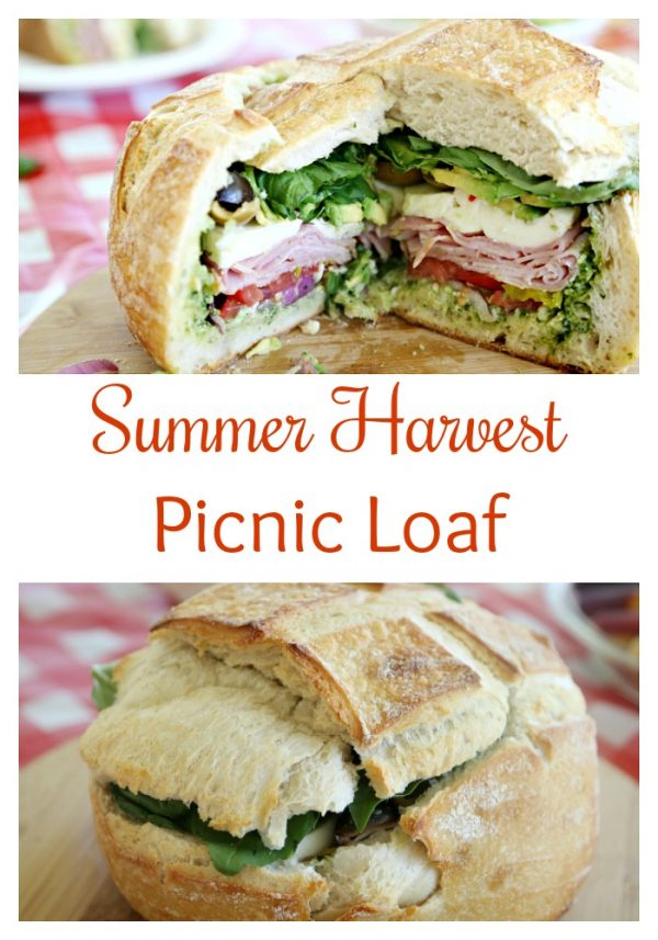 Summer Harvest Picnic Loaf