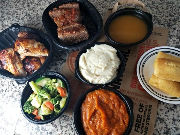 Family Dinner from Boston Market