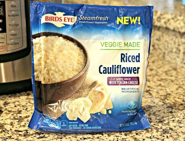 Instant Pot Hawaiian Haystacks with riced cauliflower