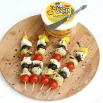Vegetarian Antipasto Skewers