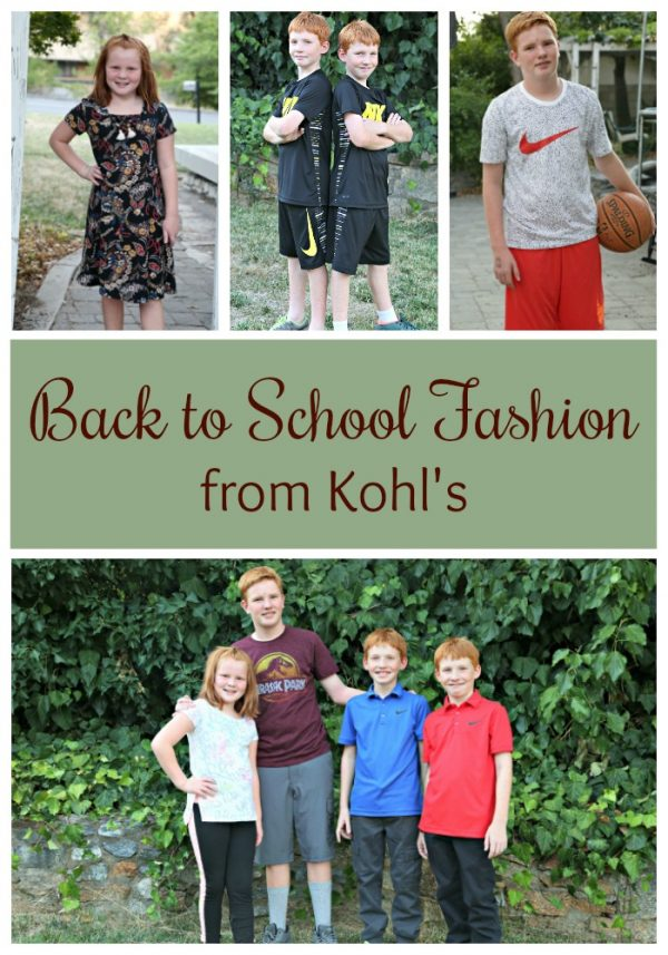 Back to School Fashion from Kohls