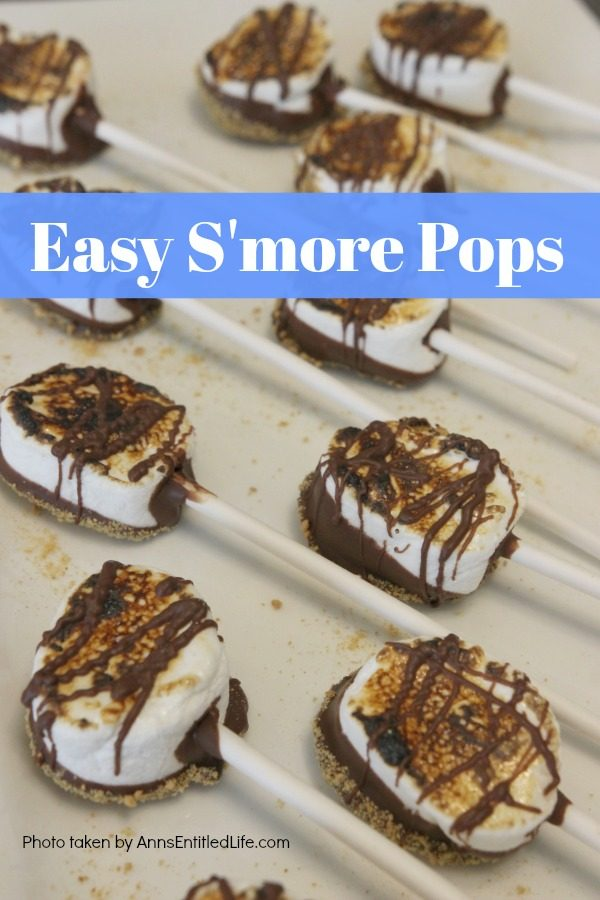 Easy Smores Pops Recipe from Ann's Entitled Life