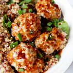 Instant Pot Korean Chikcen Meatballs from The Bewitchin Kitchen