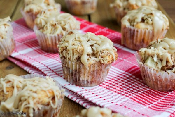 Caramel Apple Cups from Eat Move Make