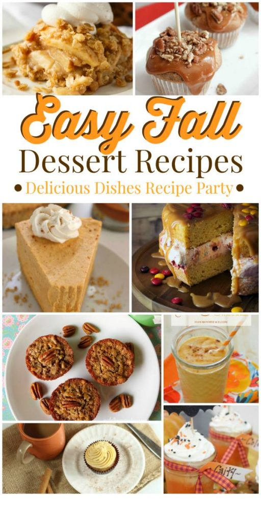 Easy Fall Desserts