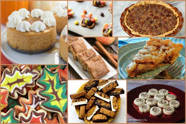 Thanksgiving desserts to round out the feast