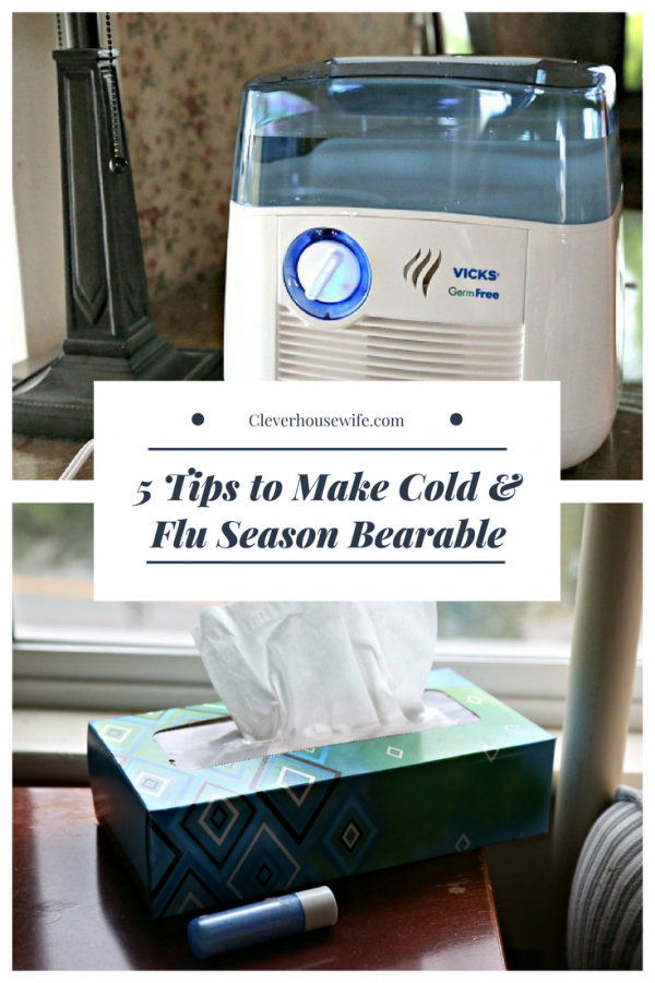5 Tips to Make Cold & Flu Season Bearable