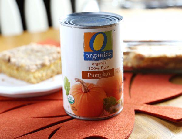 Layered Pumpkin Dessert using O Organics Pumpkin!