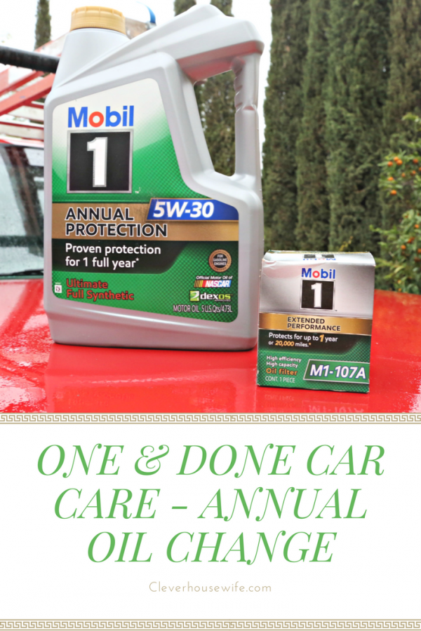 One & Done Car Care - Annual Oil Change