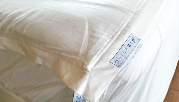 QuickZip fitted sheet