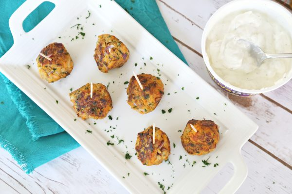 Sweet Potato and Turkey Meatballs