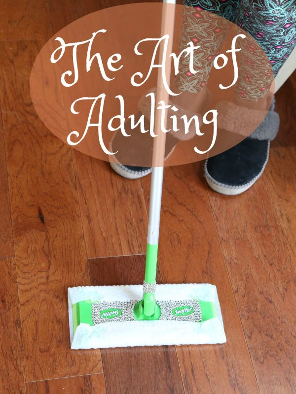 Celebrate The Art of Adulting with Laughter and Swiffer