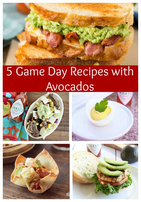 5 Game Day Recipes with Avocados