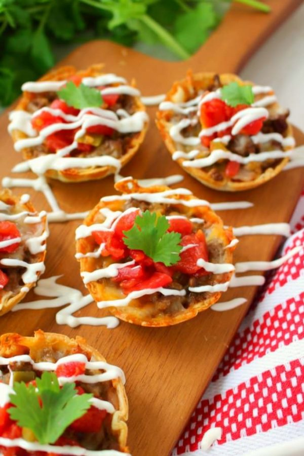 Easy Baked Mini Tacos from Delightful E Made