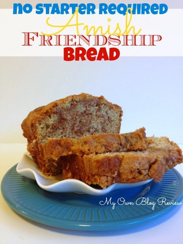 Amish Friendship Bread with Starter from Embellishmints